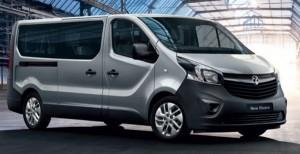 Opel Vivaro 2015 mikroautobusų nuoma